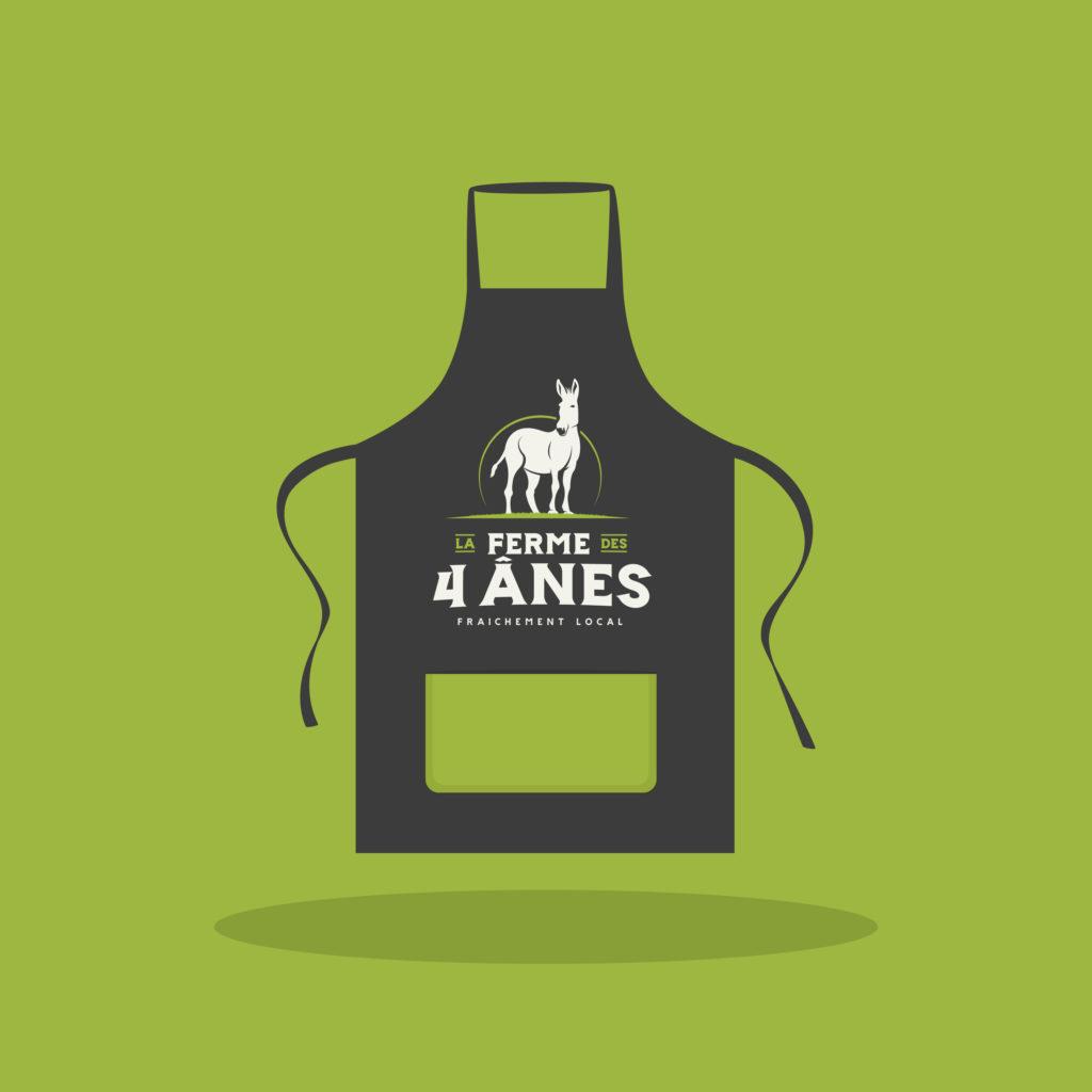 tablier La ferme des 4 ânes