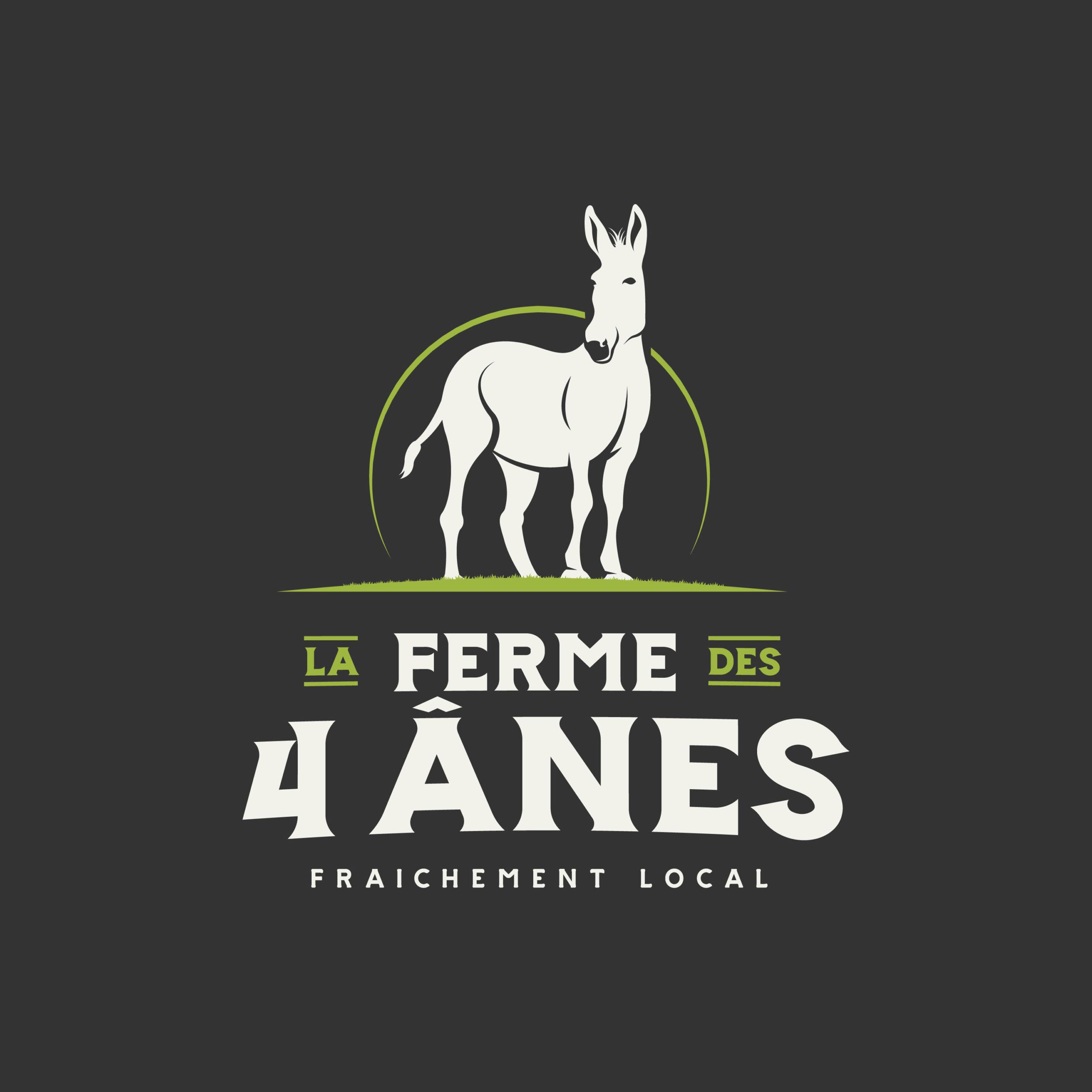 logo La ferme des 4 ânes